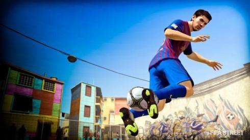 Lionel Messi es la estrella de FIFA Street
