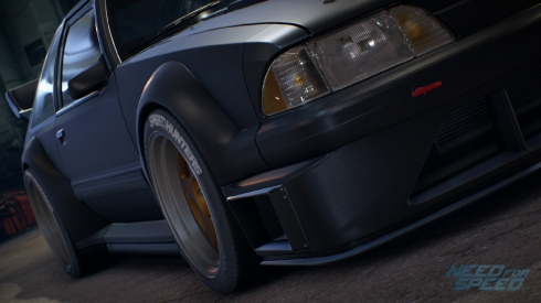 El Ford Mustang Fox Body 1990 en NFS 2015.
